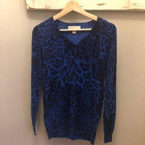 🎀Michael Kors🎀Leopard Print Sweater